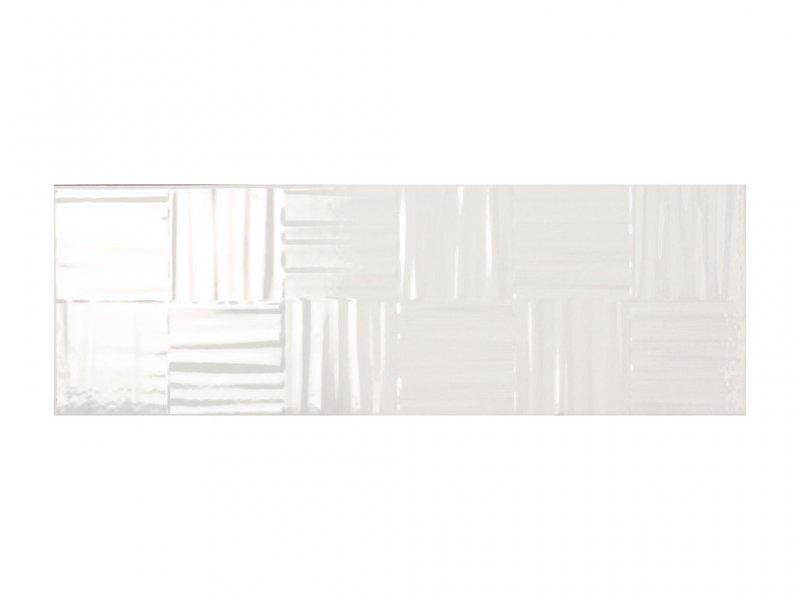 8029 Kp Intreccio new Lumina Bianco 25x75 025AL001D